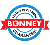Bonney 123-Day Clog-Free Guarantee