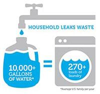 Household Leaks Waste