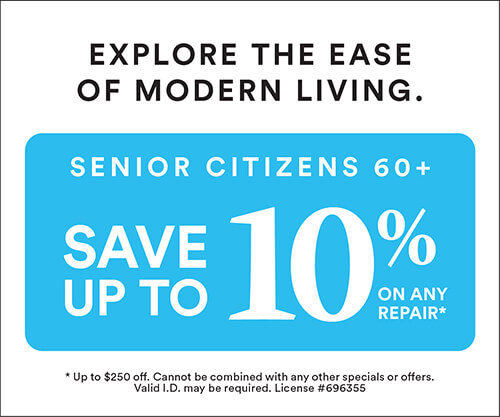 Senior Citizen Discount: Up to 10%