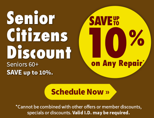 Senior Citizens Discount from Bonney - Save up to 10%