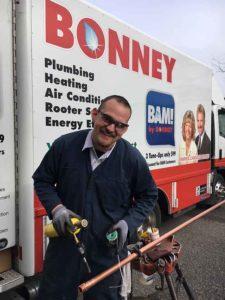 Welding Copper | Bonney Plumbing