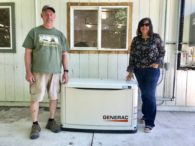 Generac Electric Backup Generator