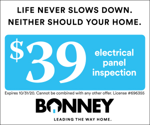 $39 electrical panel inspection from Bonney in Sacramento