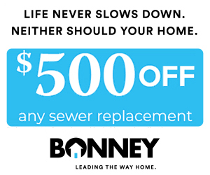 $500 Off Any Sewer Replacement