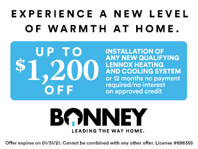 January 2021 HVAC Offer