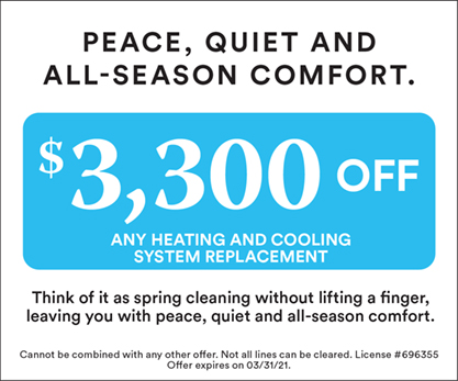 $3,300 off Spring Cleaning Offer