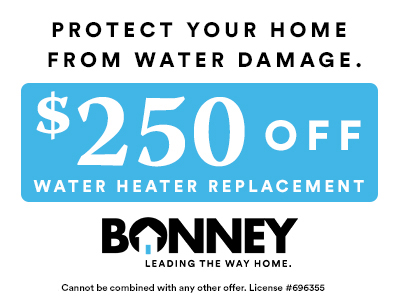 Water Heater Replacement Offer